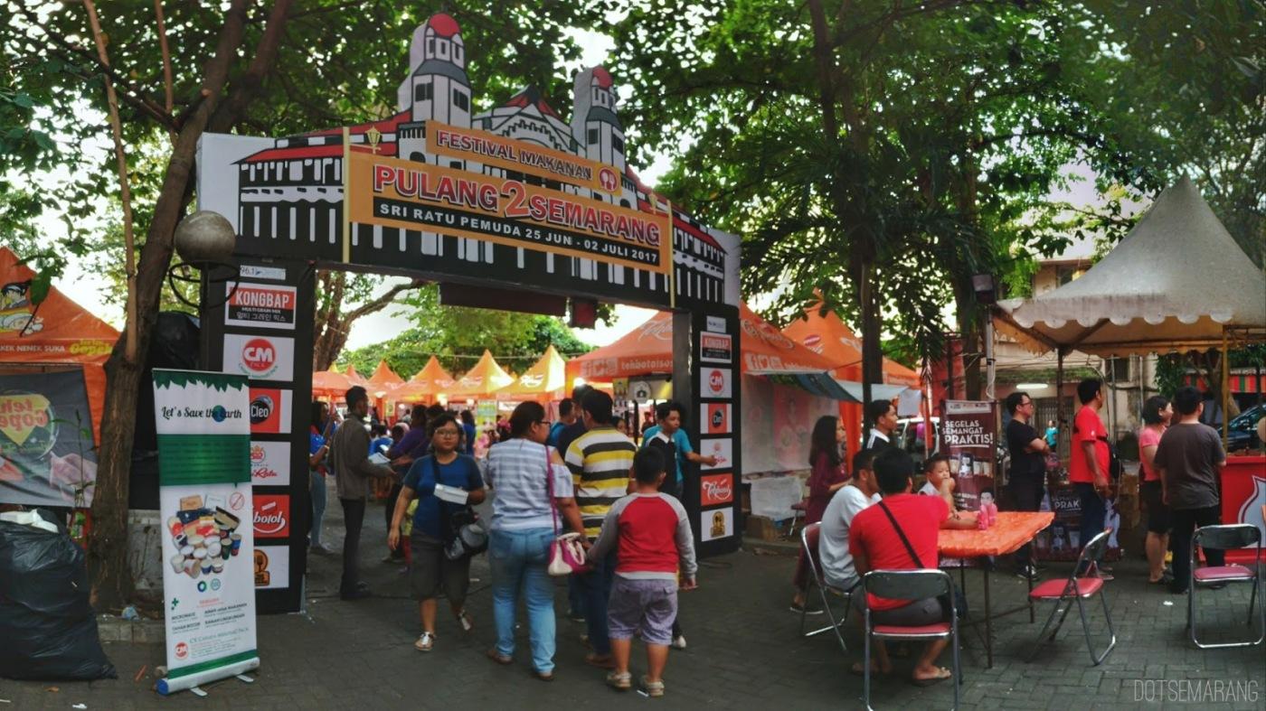 Kemeriahan Festival Makanan di Semarang, Obat Rindu Makanan Khas