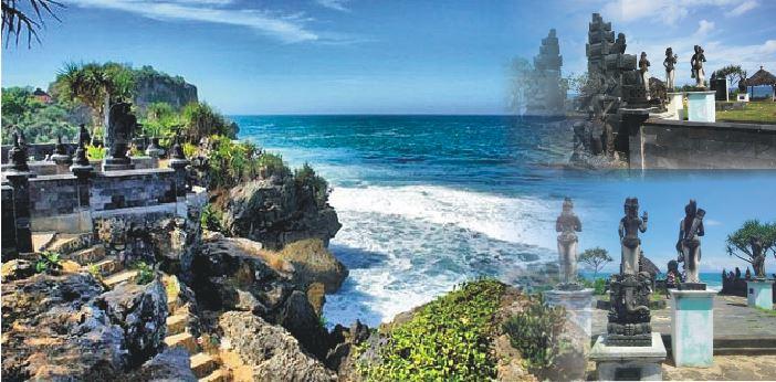Serasa di Bali, Pantai Ngobaran Yogyakarta