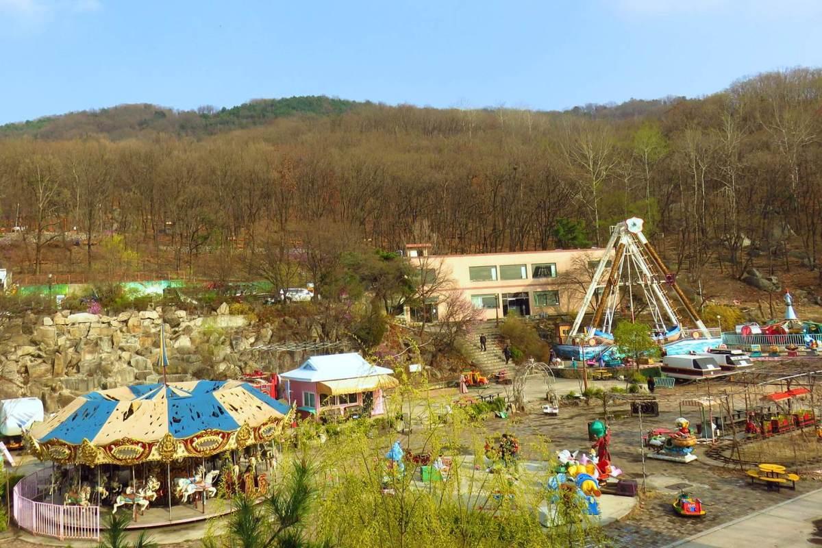 Taman Bermain Berhantu Di Korea, Menjadi Destinasi Wisata Angker