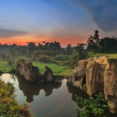 Tebing Koja Kandang Gozilla Wisata Alam Yang Menyejukan