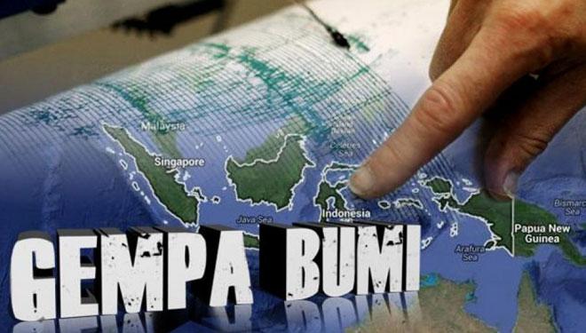 Gempa Bumi Gorontalo 6.0 SR, Tidak Ada Unsur Tsunami Warga Harap Tenang