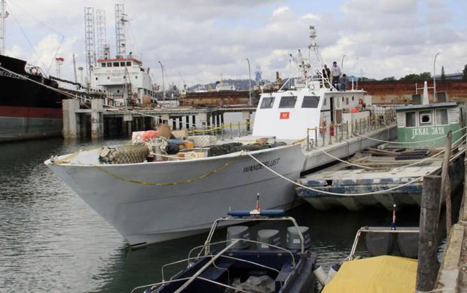 Kapal Pesiar Pengangkut Sabu 1 Ton Sidah di Modifikasi