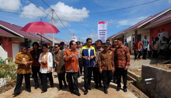 Jokowi Gencar Tingkatkan Kualitas Bangunan Rumah DP 1 Persen