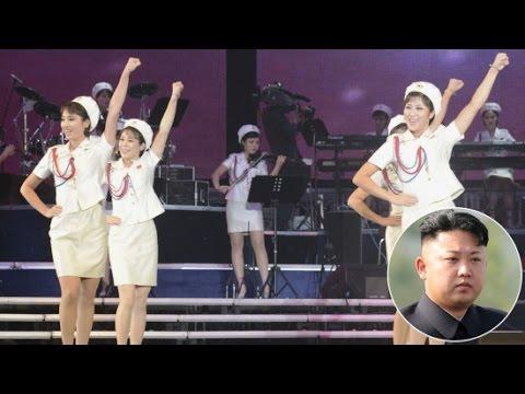Kim Jong Un Bentuk The Moranbon Band, Girlband Dengan Nuansa Kemiliteran