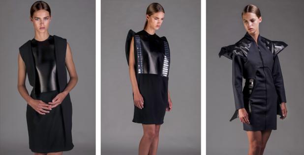 Дизайн одежды оснащен сложными технологиями